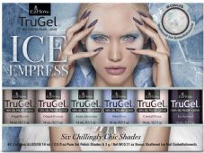 EzFlow Trugel Led/UV Gel Polish - Ice Empress Collection 6 x 14ml